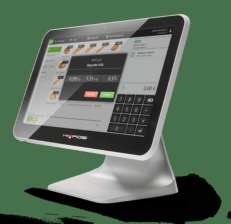 Soluciones TPV HioPOS - Vende tus productos por peso