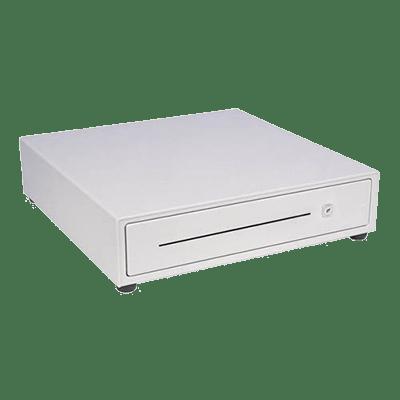 Cajón portamonedas Blanco/Negro