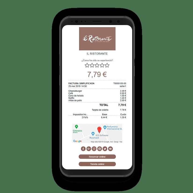 Clientes conectados para restaurantes