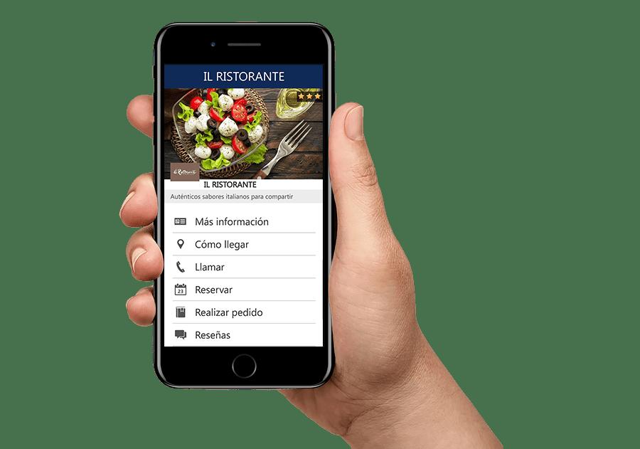 Motor online de reserva de mesas restaurante