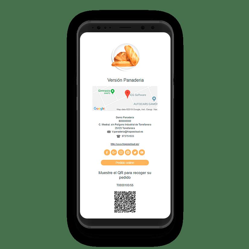 Soluciones TPV - Entrega Pedidos Alimentación