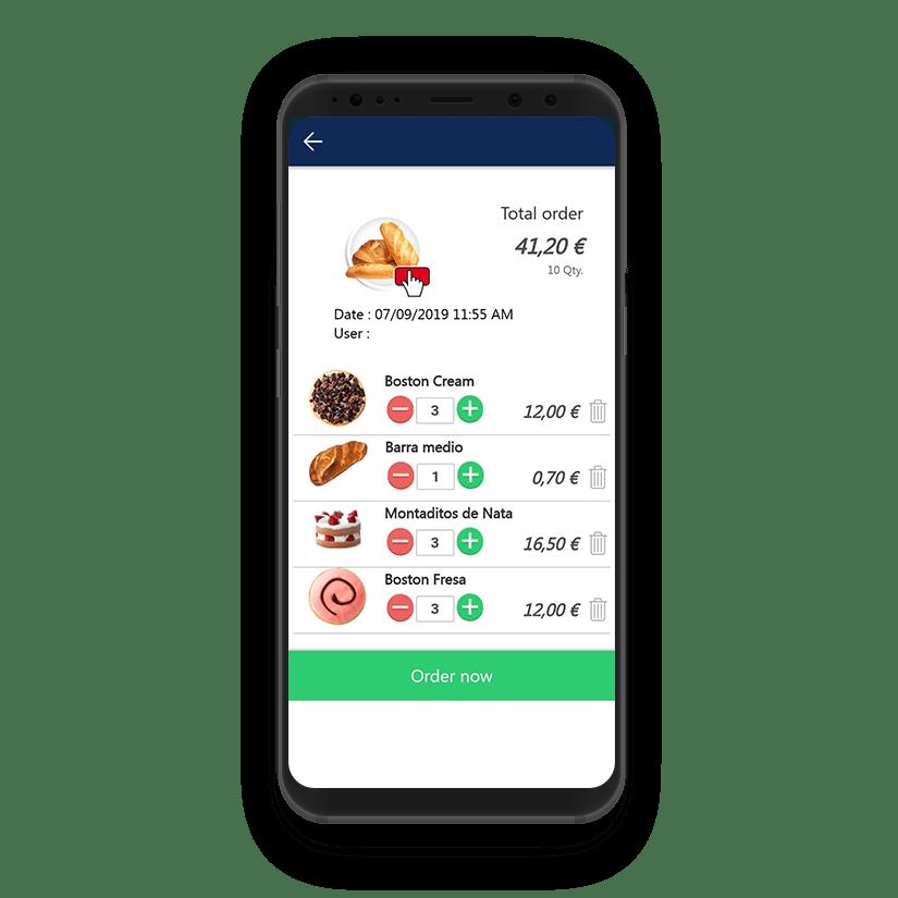 Soluciones TPV - Take Away Alimentación